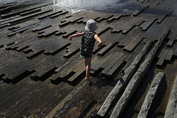 Heat - Temperature「People And Animals Cool Off From Heat Wave」:写真・画像(10)[壁紙.com]