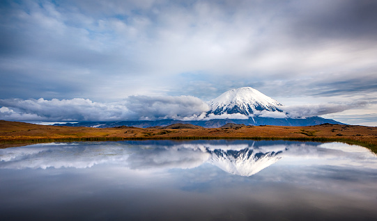 Kamchatka Peninsula「Tolbachik volcano on the Kamchatka Peninsula, Russia」:スマホ壁紙(0)