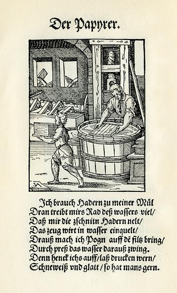 16th Century「Paper maker」:写真・画像(18)[壁紙.com]