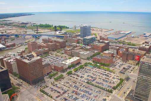 Great Lakes「Large parking lots ripe for development in downtown Cleveland」:スマホ壁紙(0)