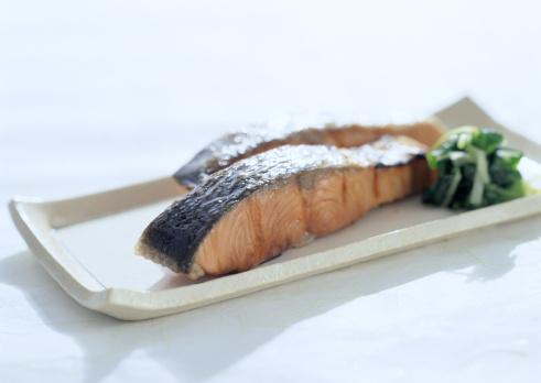 和食「Broiled Fish」:スマホ壁紙(16)