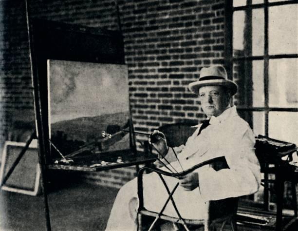 Painter In Oils - Churchill As An Artist:ニュース(壁紙.com)