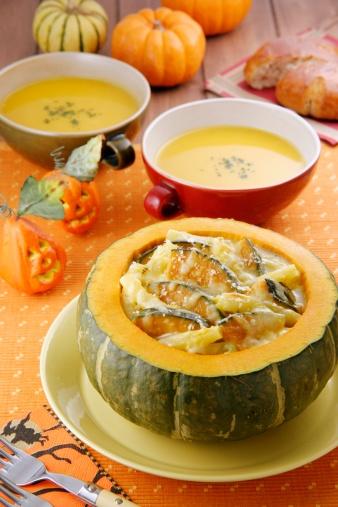 ハロウィーン「Pumpkin Gratin」:スマホ壁紙(5)
