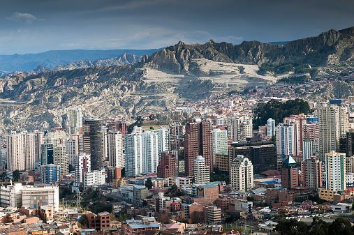 Bolivian Andes「Bolivia, La paz, the capital city」:スマホ壁紙(4)
