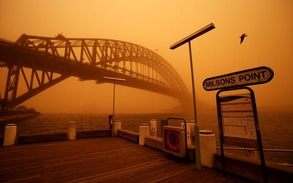 Absence「Dust Storm Blankets Sydney」:写真・画像(16)[壁紙.com]