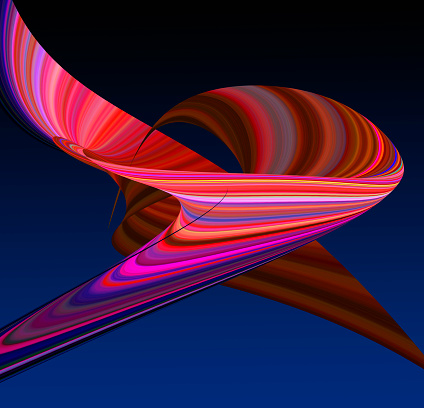 Innovation「Abstract Light Trail Object」:スマホ壁紙(6)