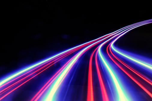 Light Trail「abstract light and heat trails」:スマホ壁紙(10)