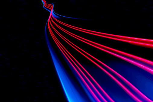 Light Trail「abstract light and heat trails」:スマホ壁紙(3)
