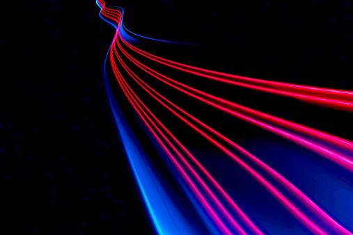 Light Trail「abstract light and heat trails」:スマホ壁紙(2)