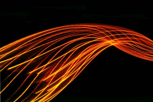 Light Trail「abstract light and heat trails」:スマホ壁紙(11)