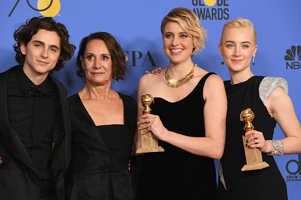 Golden Globe Statue「75th Annual Golden Globe Awards - Press Room」:写真・画像(18)[壁紙.com]
