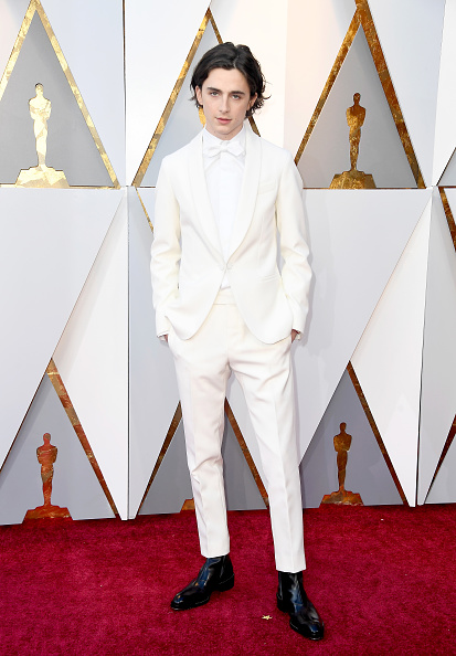 Timothée Chalamet「90th Annual Academy Awards - Arrivals」:写真・画像(3)[壁紙.com]