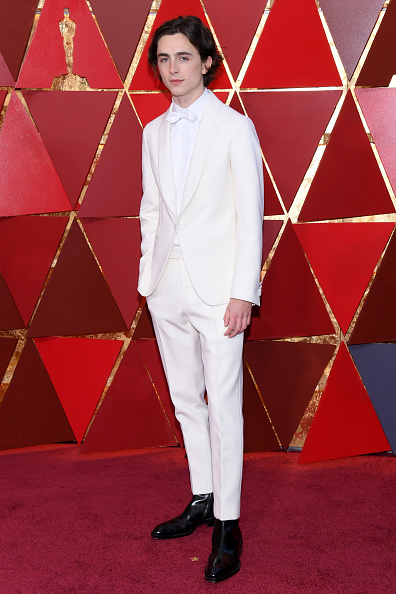Timothée Chalamet「90th Annual Academy Awards - Arrivals」:写真・画像(18)[壁紙.com]