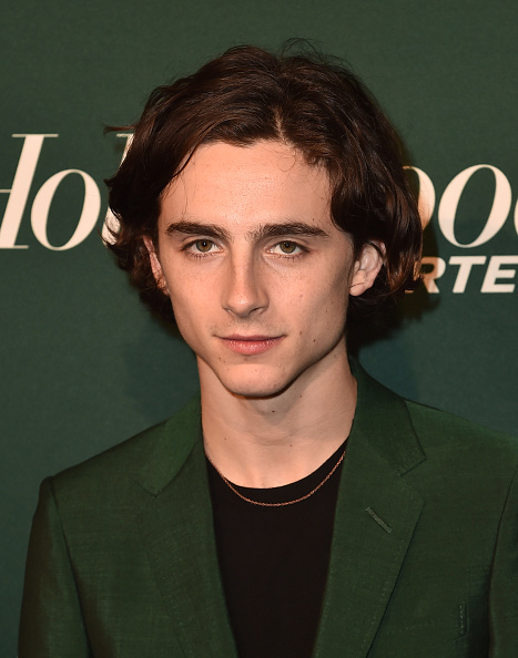 Timothée Chalamet「The Hollywood Reporter 6th Annual Nominees Night - Arrivals」:写真・画像(17)[壁紙.com]
