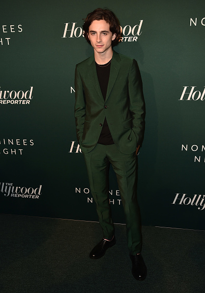 Timothée Chalamet「The Hollywood Reporter 6th Annual Nominees Night - Arrivals」:写真・画像(19)[壁紙.com]