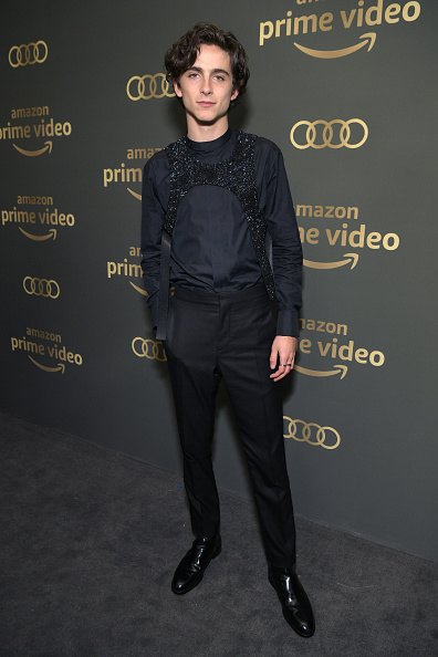 Timothée Chalamet「Amazon Prime Video's Golden Globe Awards After Party - Red Carpet」:写真・画像(11)[壁紙.com]