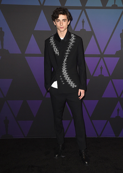 Timothée Chalamet「Academy Of Motion Picture Arts And Sciences' 10th Annual Governors Awards - Arrivals」:写真・画像(10)[壁紙.com]