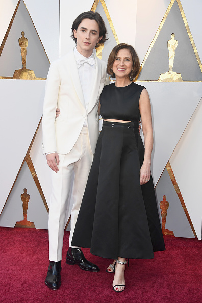 Timothée Chalamet「90th Annual Academy Awards - Arrivals」:写真・画像(14)[壁紙.com]