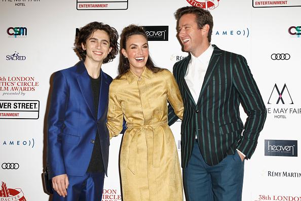Tristan Fewings「London Film Critics Circle Awards - Red Carpet Arrivals」:写真・画像(3)[壁紙.com]