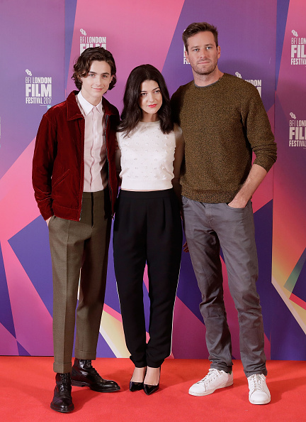 """Call Me by Your Name「""""Call Me By Your Name"""" Photocall - 61st BFI London Film Festival」:写真・画像(16)[壁紙.com]"""