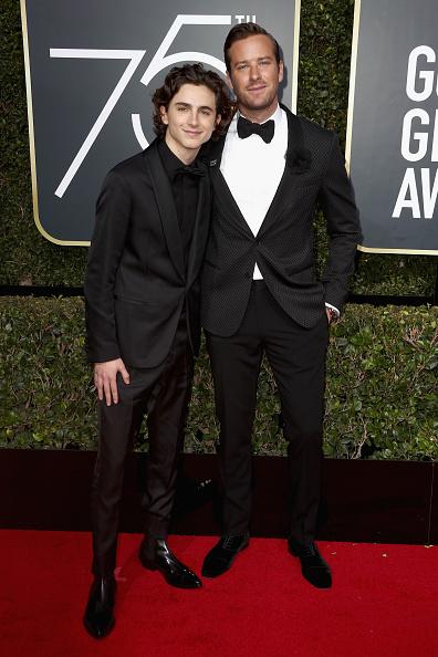 アーミー ハマー「75th Annual Golden Globe Awards - Arrivals」:写真・画像(14)[壁紙.com]