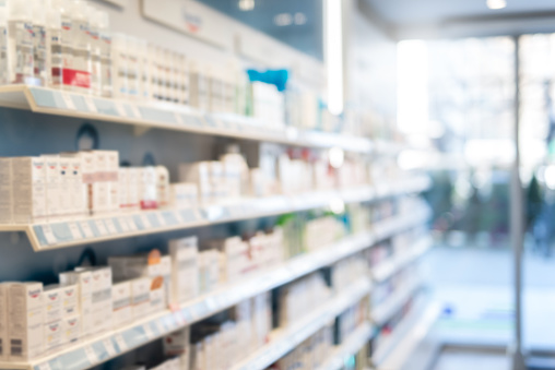 Supermarket「Blurred Pharmacy Background.」:スマホ壁紙(19)