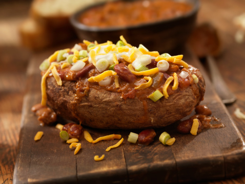 Silverware「Baked Potato Topped with Chili」:スマホ壁紙(13)