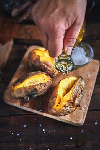 Baked Potato「Baked Potato with Sea Salt and Olive Oil」:スマホ壁紙(17)