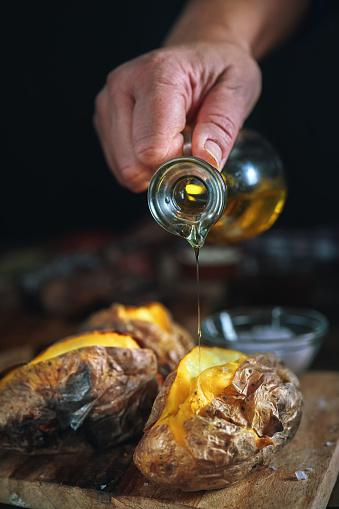 Baked Potato「Baked Potato with Sea Salt and Olive Oil」:スマホ壁紙(13)