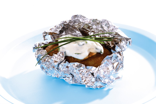 Baked Potato「Baked potato with curd cheese」:スマホ壁紙(1)