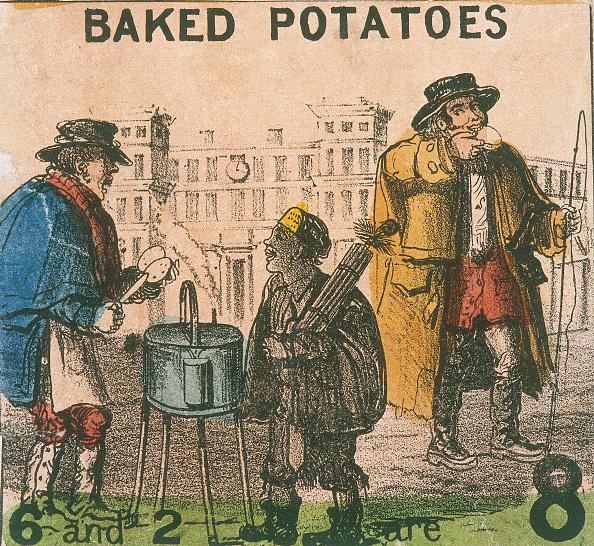 Baked Potato「'Baked Potatoes', Cries of London, c1840. Artist: TH Jones」:写真・画像(4)[壁紙.com]