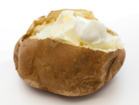 Baked Potato「Baked Potato and Sour Cream」:スマホ壁紙(14)