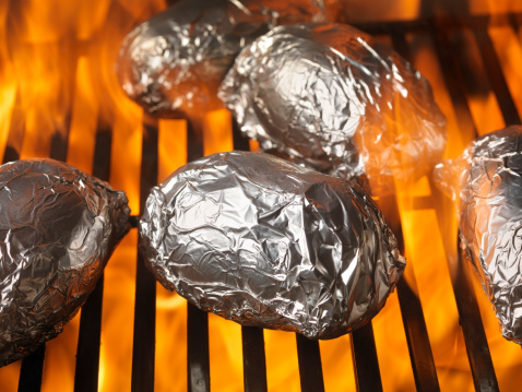 Baked Potato「Baked Potatoes on the BBQ」:スマホ壁紙(18)