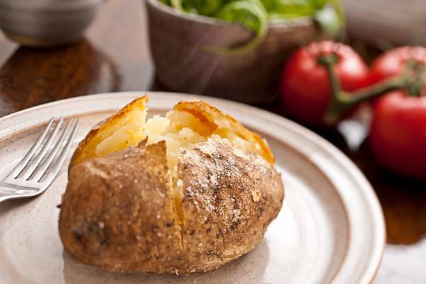 Baked potato:スマホ壁紙(壁紙.com)