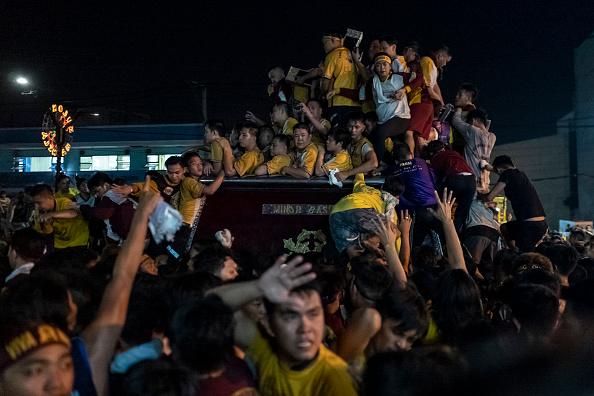 バシリカ「Filipinos Celebrate The Feast Of Black Nazarene」:写真・画像(3)[壁紙.com]