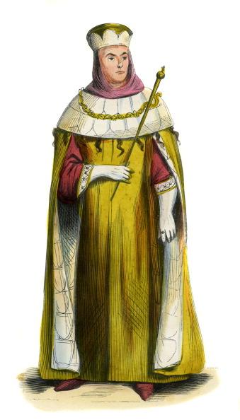 Circa 14th Century「Senator of Rome - male costume of 14th century」:写真・画像(5)[壁紙.com]