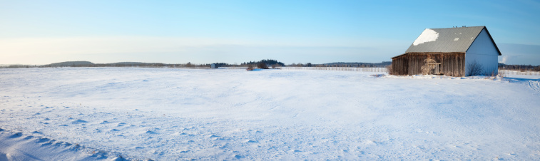 Agricultural Building「Field of Snow」:スマホ壁紙(7)