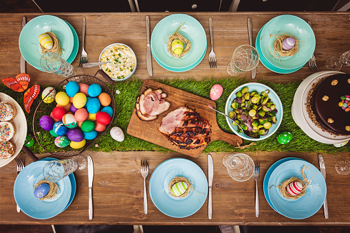 Glazed Ham「Decorated Easter Table」:スマホ壁紙(6)