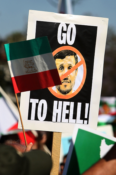 Support「Iranian Demonstration For Human Rights Holds March In L.A.」:写真・画像(19)[壁紙.com]