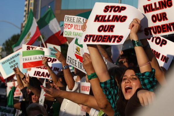 Support「Iranian-American Protestors Rally In Southern California」:写真・画像(0)[壁紙.com]