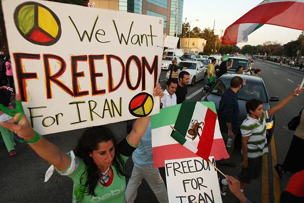 Support「Iranian-American Protestors Rally In Southern California」:写真・画像(17)[壁紙.com]