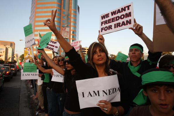 Support「Iranian-American Protestors Rally In Southern California」:写真・画像(18)[壁紙.com]