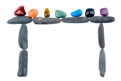 結晶「クリスタルストーン巨石で囲んだシェイプ」:スマホ壁紙(17)