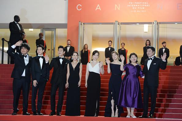 "Parasite - 2019 Film「""Parasite"" Red Carpet - The 72nd Annual Cannes Film Festival」:写真・画像(4)[壁紙.com]"