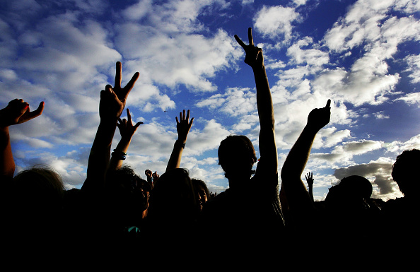 Peace Sign - Gesture「Good Vibrations Festival 2008 - Sydney」:写真・画像(13)[壁紙.com]