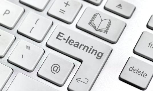 Education Training Class「E-learning keyboard」:スマホ壁紙(11)