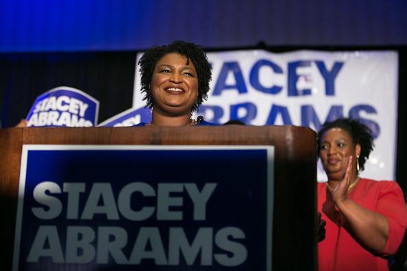 ベストオブ「Georgia Democratic Gubernatorial Candidate Stacey Abrams Holds Primary Night Event In Atlanta」:写真・画像(12)[壁紙.com]