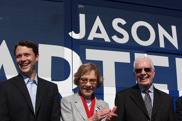 Georgia - US State「Jimmy And Rosalynn Carter Campaign With Jason Carter In Columbus」:写真・画像(18)[壁紙.com]