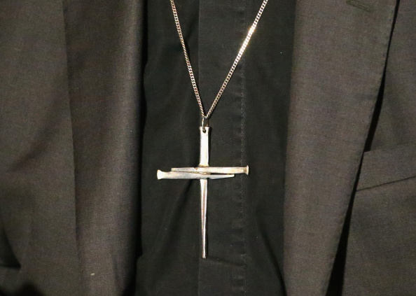 Necklace「Archbishops Justin Welby and Philip Freier Attend Press Conference」:写真・画像(11)[壁紙.com]