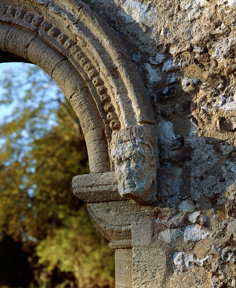 Animal Body Part「Detail of the south doorway of the lodgings, Thetford Priory, Norfolk, c2000s(?)」:写真・画像(8)[壁紙.com]